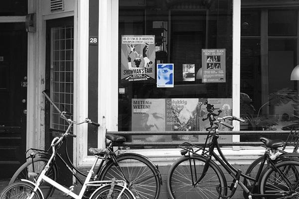 Onze poster in de Utrechtse Haverstraat