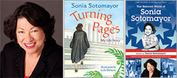 Publisher's Weekly: An interview with Supreme Court Justice Sonia Sotomayor on her new children's books