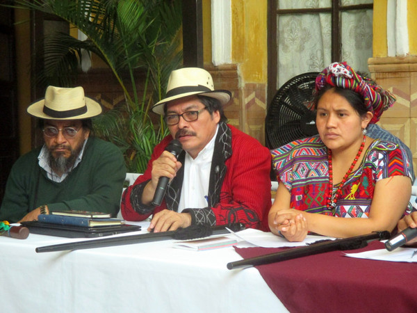 """""""Indigenous authorities unite against corruption debacle in Guatemala"""" - Photo by Sandra Cuffe for Truthout"""