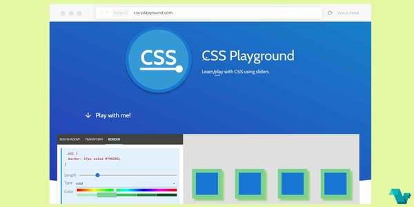 CSS Playground: A Nuxt.js powered app
