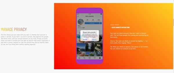 Instagram lance un guide à destination des parents - Blog du Modérateur
