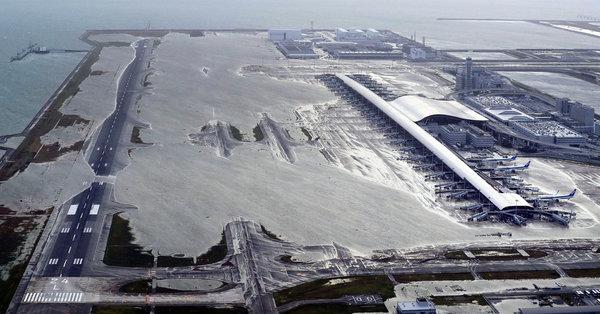 Viele Flughäfen sind stark von Klimaerwärmung und Überflutungen betroffen