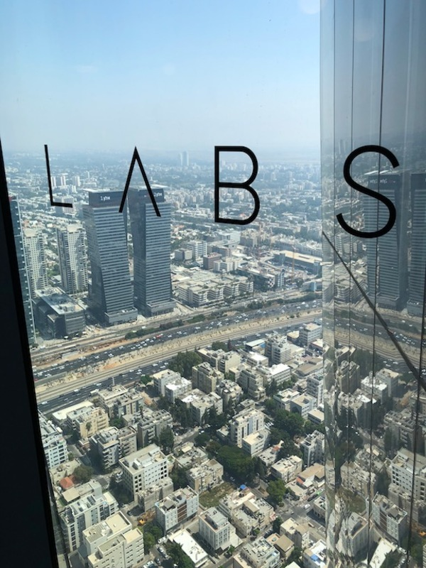The tallest building in Tel Aviv holds a co-workspace!