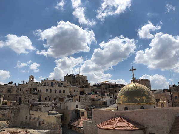 Holy Da Vinci Code! A day trip to Bethlehem and Jerusalem to see the past...