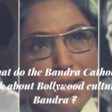 Why Bandra Catholics are indifferent to their Bollywood neighbours? - BANDRA INFO