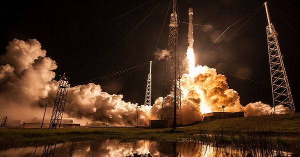 SpaceX nails another rocket landing on its droneship: Watch