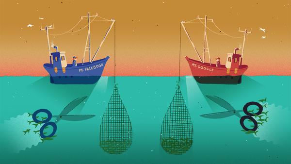Den Datenfischern die Netze kappen: Ideen gegen die Marktmacht der Plattformen – netzpolitik.org