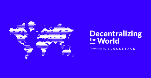 Decentralizing the World Tour | New York | Blockstack