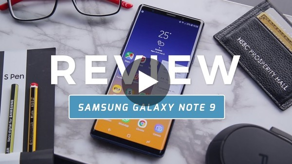 Samsung Galaxy Note 9 review (Dutch) - YouTube