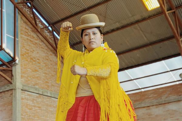 Nat Geo: Meet the 'Flying Cholitas' - the Bolivian women wrestling their way to equality in the Andes