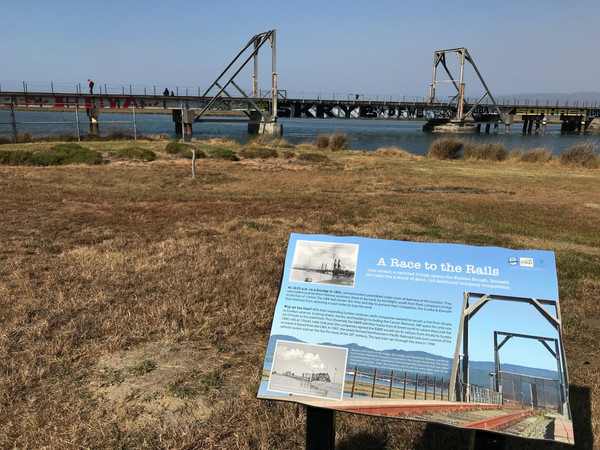 'Brand spanking new' Waterfront Trail signs trace Eureka's history – Times-Standard
