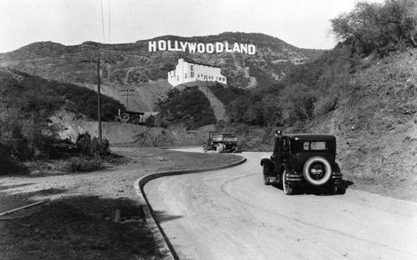 A History of the Hollywood Sign in 16 Rare Photos Los Angeles Magazine