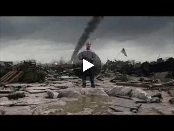 A Tornado Hits The Weather Channel - YouTube
