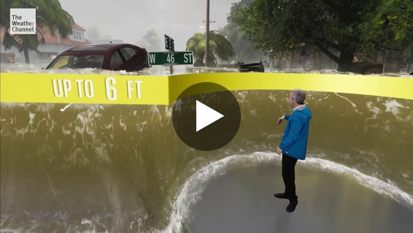Storm Surge Like You've Never Experienced it Before - YouTube