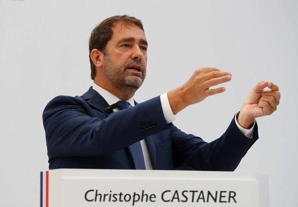 De partijleider van Macron, Castaner