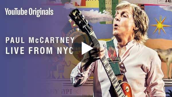 Paul McCartney: Live from NYC - YouTube