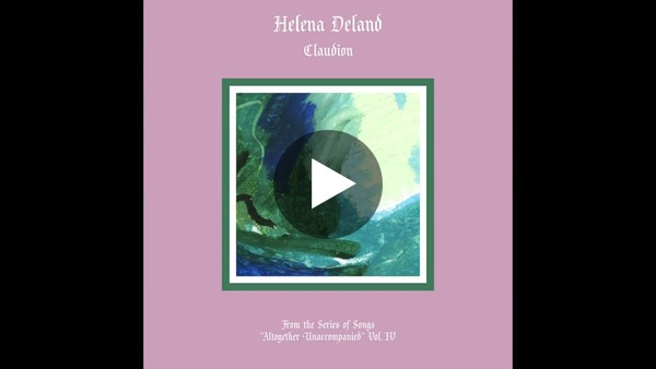 """""""Claudion"""" by Helena Deland (2018)."""