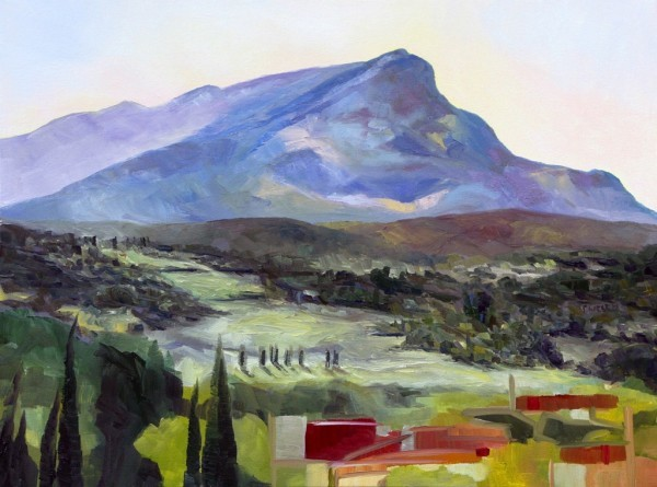 Morning with Cezanne's Mountain by Terrill Welch | Artwork Archive