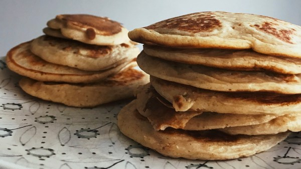 Fluffy Pancakes au Lait Ribot