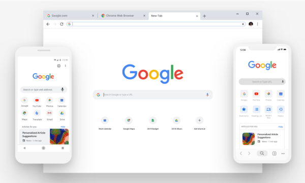 NEW Google Chrome 🖥️✨