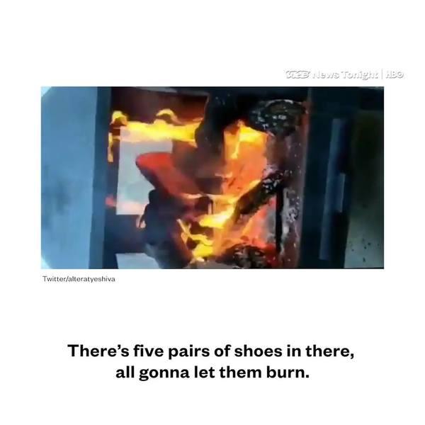 Warum Nike sich nicht für Kunden interessiert, die ihre Artikel verbrennen