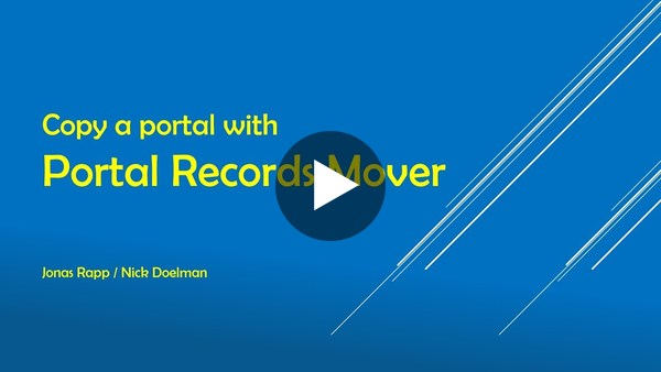 Portal Records Mover with Nick Doelman - YouTube