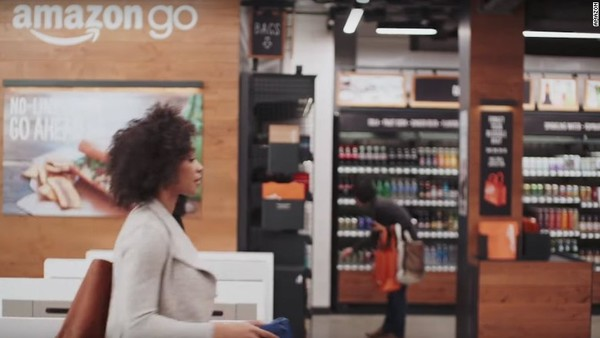 Amazon's cashier-free stores are coming to New York