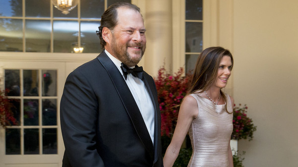 Salesforce co-founder Marc Benioff and his wife buy Time magazine for $190 million - MarketWatch