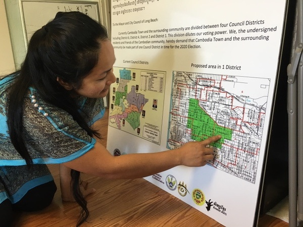 Cambodia Town Is Mapping Its Political Future In Long Beach: LAist