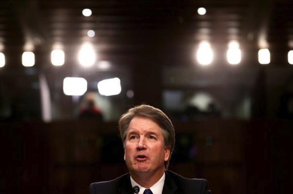 Brett Kavanaugh, kandidaat-rechter voor het Supreme Court (foto: Reuters)