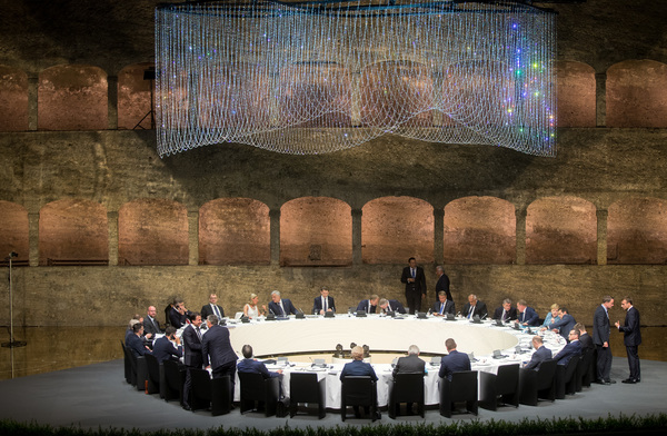 De ronde tafel in Salzburg