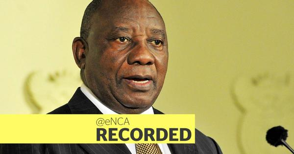 WATCH: Ramaphosa presents stimulus plan, says budget will be reprioritised | eNCA