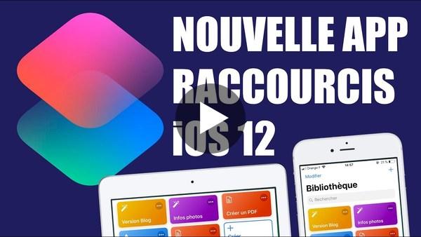 Nouveauté iOS 12 : Raccourcis : Modifier les dimensions et le format d'une photo sur iPhone ou iPad - YouTube