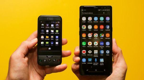 Vor 10 Jahren: Wie Google, T-Mobile und HTC das erste Android-Smartphone groß machten