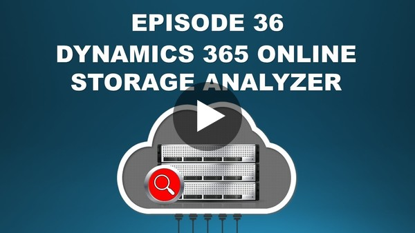 "Two-Minute Tuesday - Episode 36: ""Analyze your Dynamics 365 Online Storage"" - YouTube"