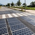Solar panels replaced tarmac on a motorway -- here are the results