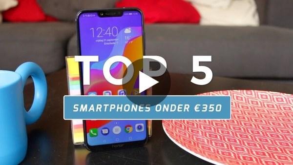 Top 5: beste smartphones onder €350 (Dutch) - YouTube
