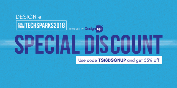 Claim your 55% Discount at https://events.yourstory.com/techsparks