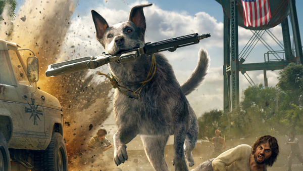 Boomer uit Far Cry 5.