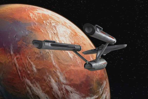 The Starship Enterprise. - CBS Photo Archive/Getty Images