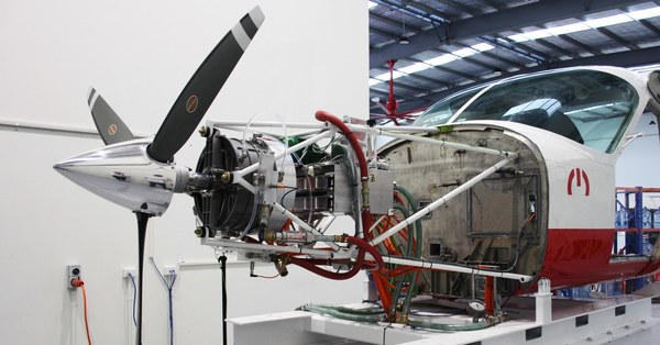 A Better Motor Is the First Step Towards Electric Planes
