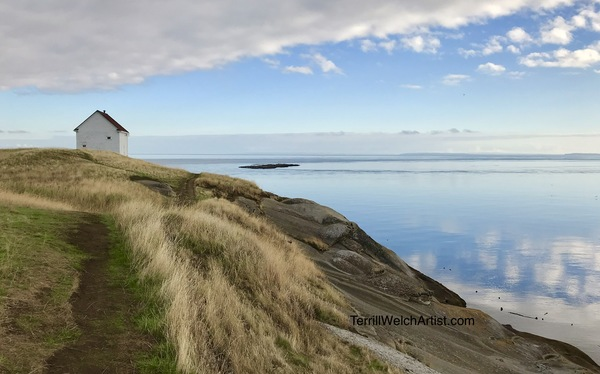 East Point Glass, Saturna Island B.C.