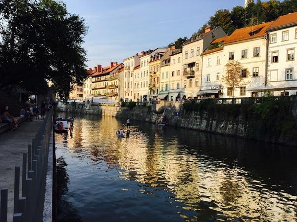 La rivière Ljubljanica