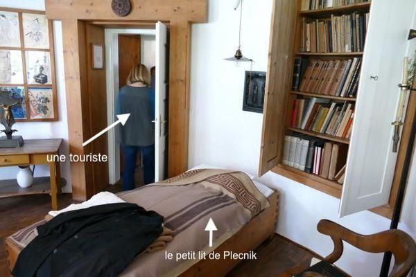 La chambre de Plečnik