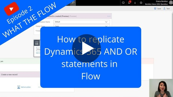 And Or Statements in Flow conditions - YouTube