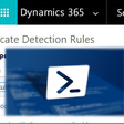 Publish duplicate detection rule using PowerShell
