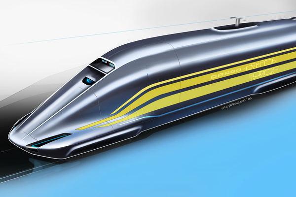 Dieser Forscher will eine neue Seidenstraße erfinden - mit ultraschnellen Zügen