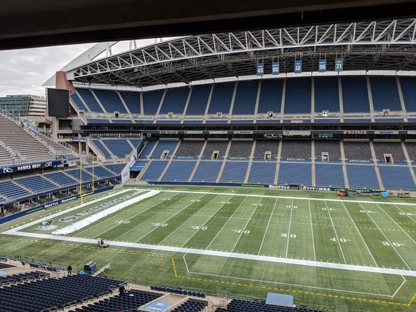 CenturyLink Field Tour (Sounders + Seahawks)