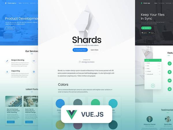 Shards Vue - High-Quality & Free Vue UI Kit – DesignRevision