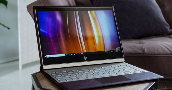 HP's new leather Spectre Folio laptop tries to reinvent the PC